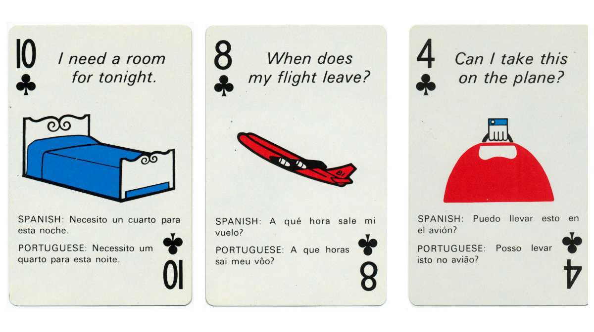 braniff playing cards