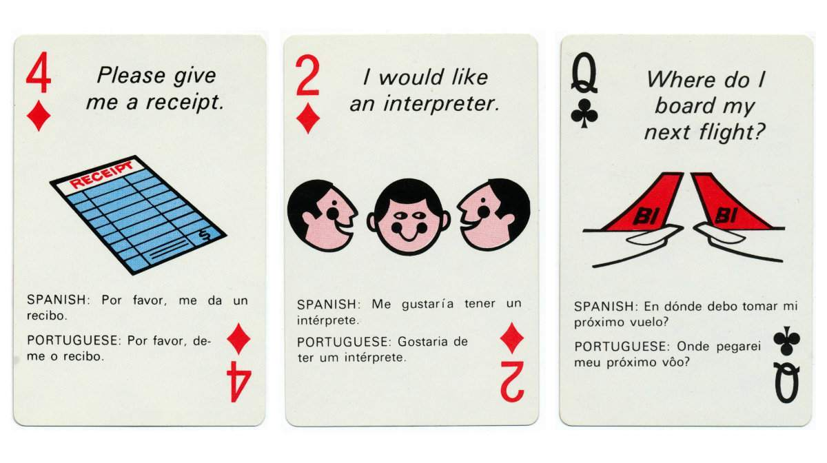 braniff playing cards 5