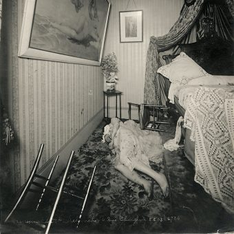 Better Than Sherlock Holmes: Detective Alphonse Bertillon's Crime Scene Photographs
