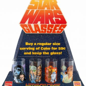 Coming to a Galaxy Near You: Star Wars Burger King Drinking Glasses