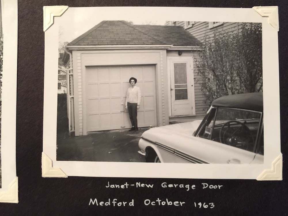 found photos 1960s home Janet Massachusetts