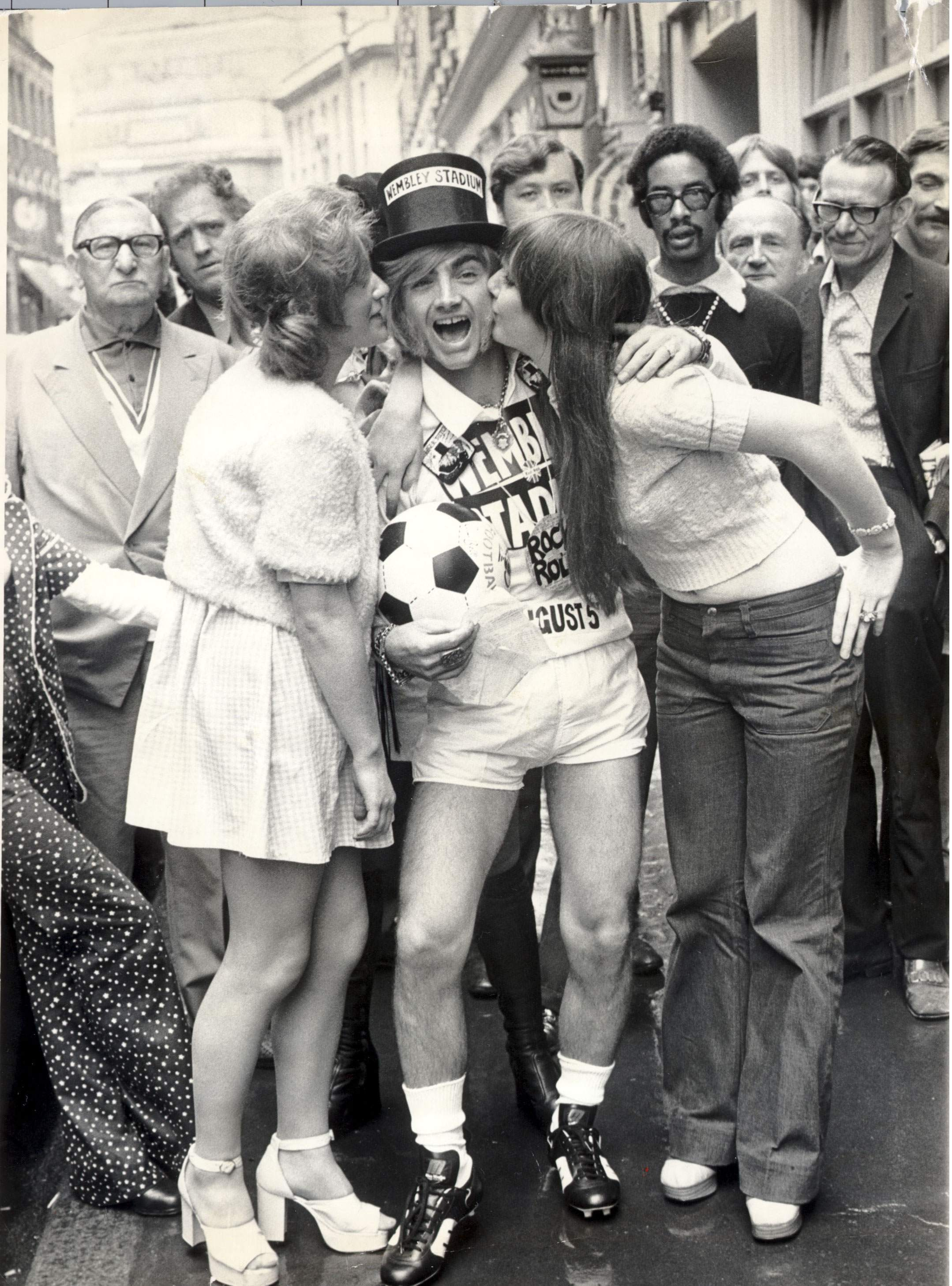 Screaming Lord Sutch At Let It Rock Flashbak