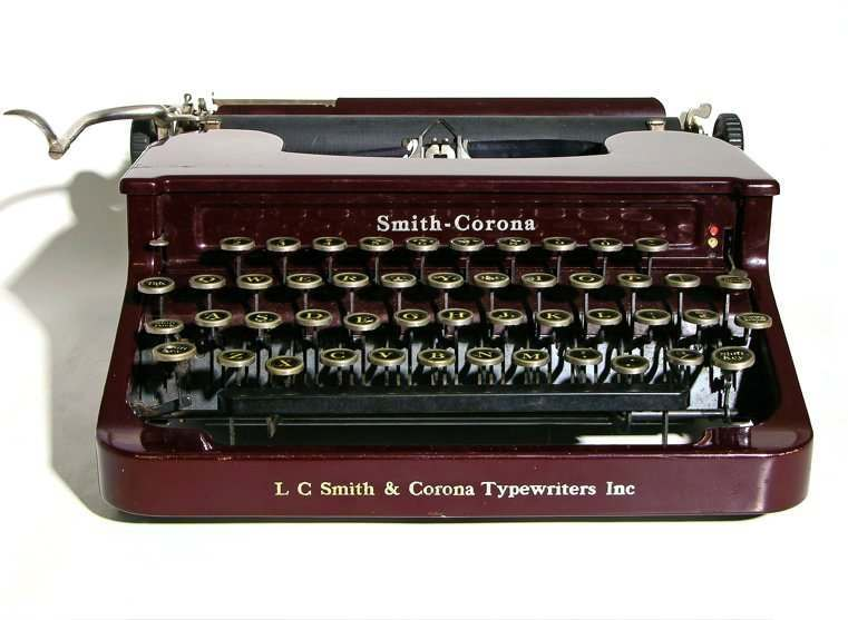 tom hanks typewriter letter bribe 1934 smith corona