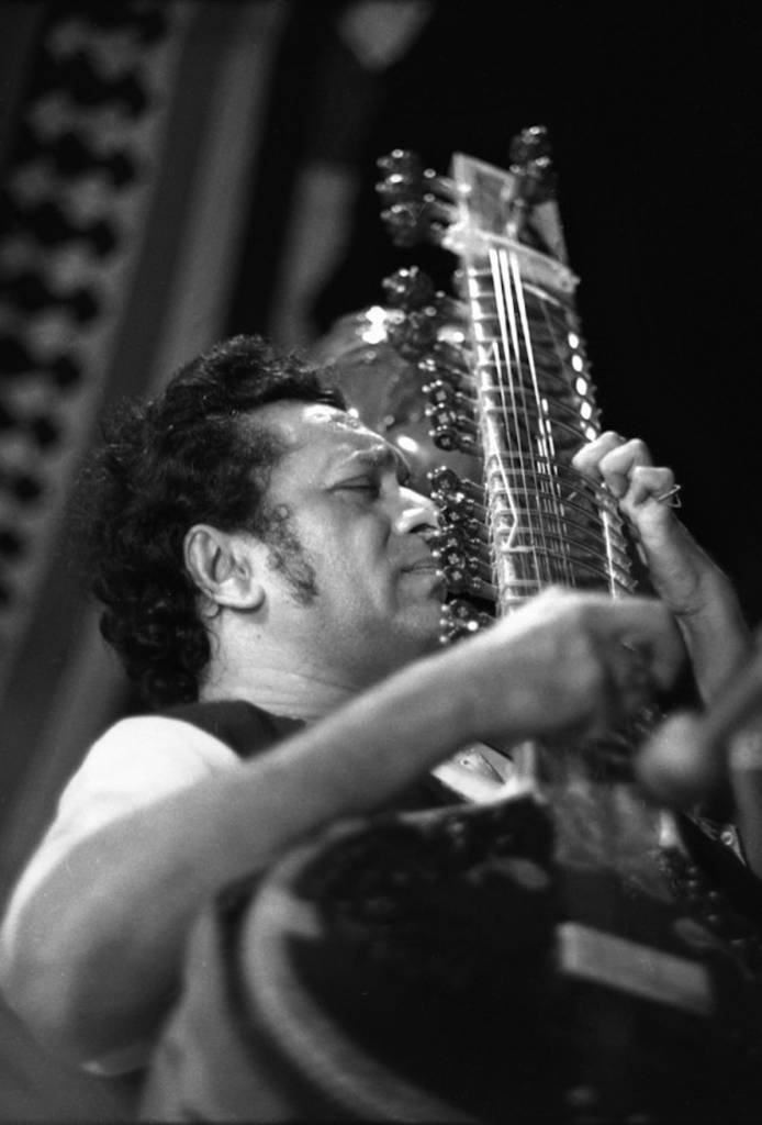 Ravi Shankar was a professor in the music department and gave a concert during one of Jang's first weeks of school.