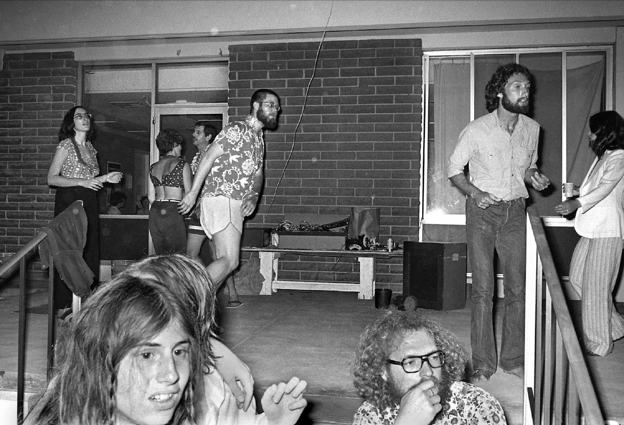 1970s california art college party