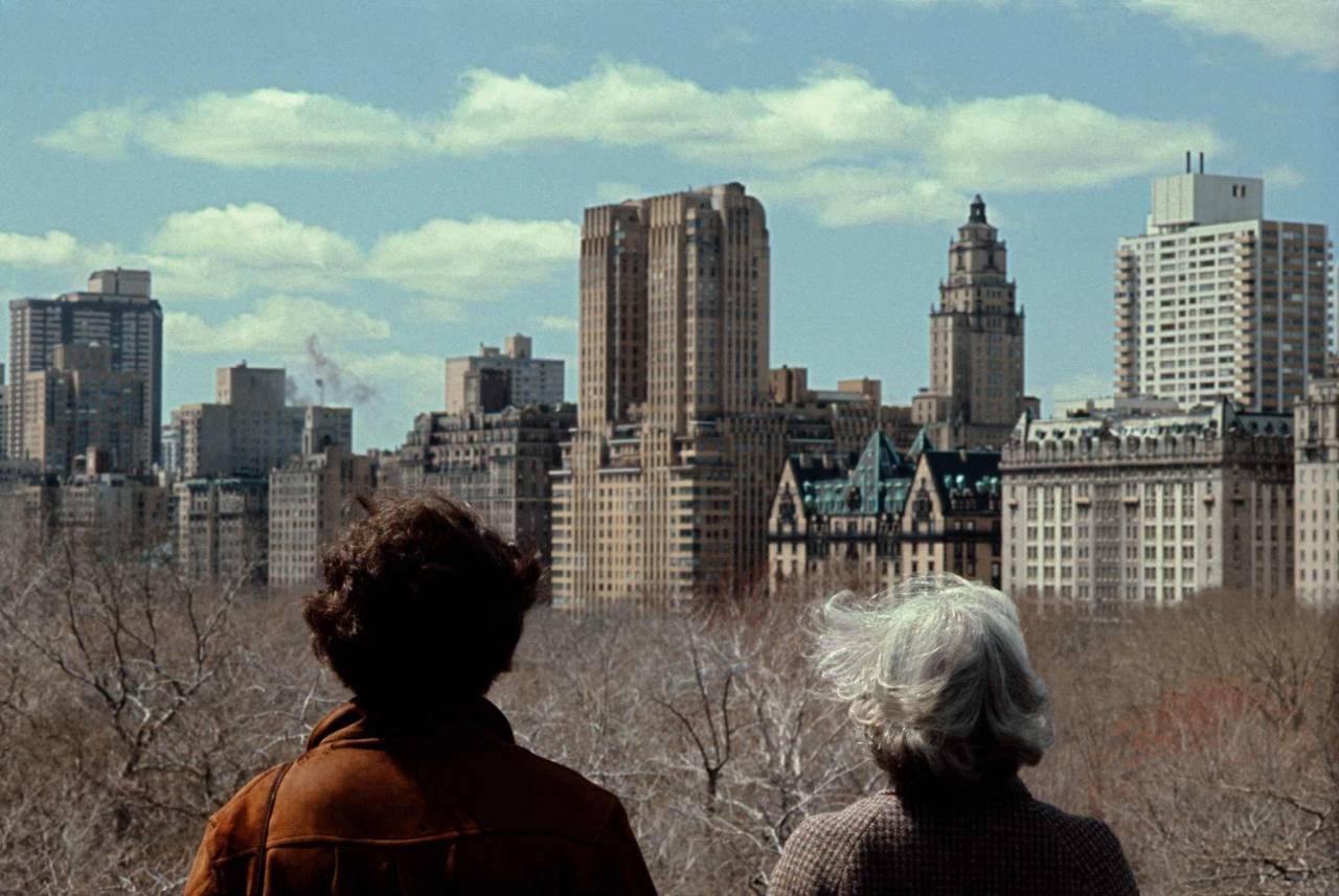 1984, New York, Central Park, two ladies