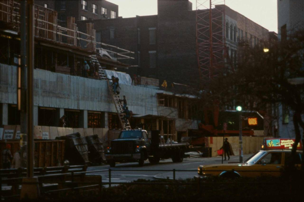 1984, New York, uptown West side, at daybreak