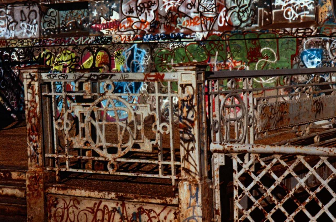 1986, New York, reference to Pollock