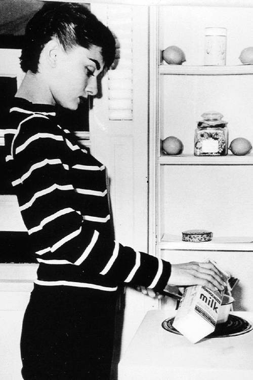 Pictures Of Audrey Hepburn During The Making Of Sabrina