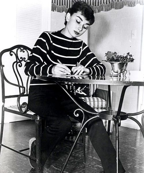 Audrey Hepburn 1953 LA apartment