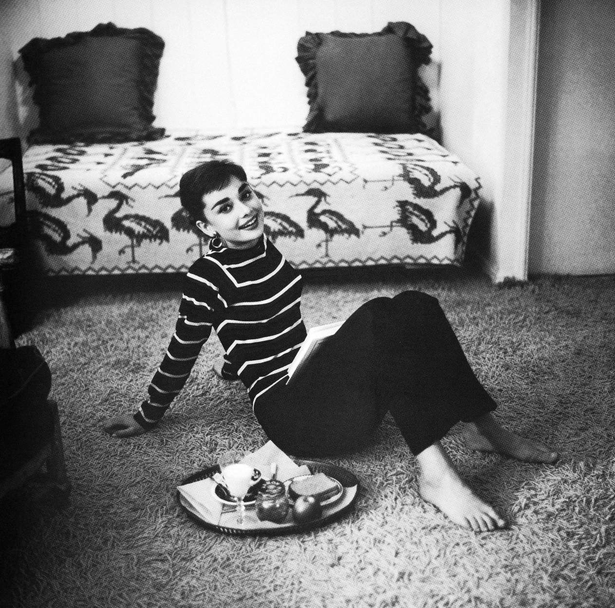 Audrey Hepburn LA Apartment 1953 Mark Shaw