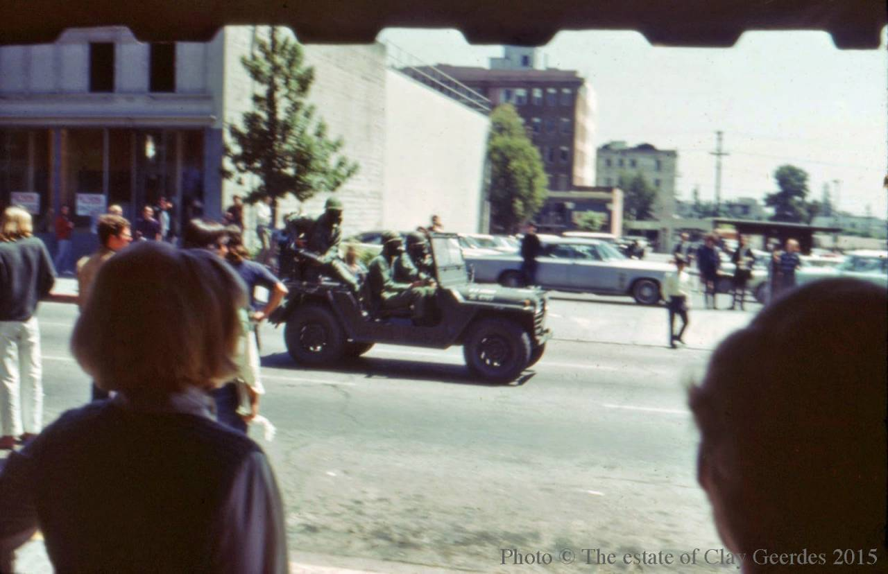 Berkeley, May 15, 1969 military