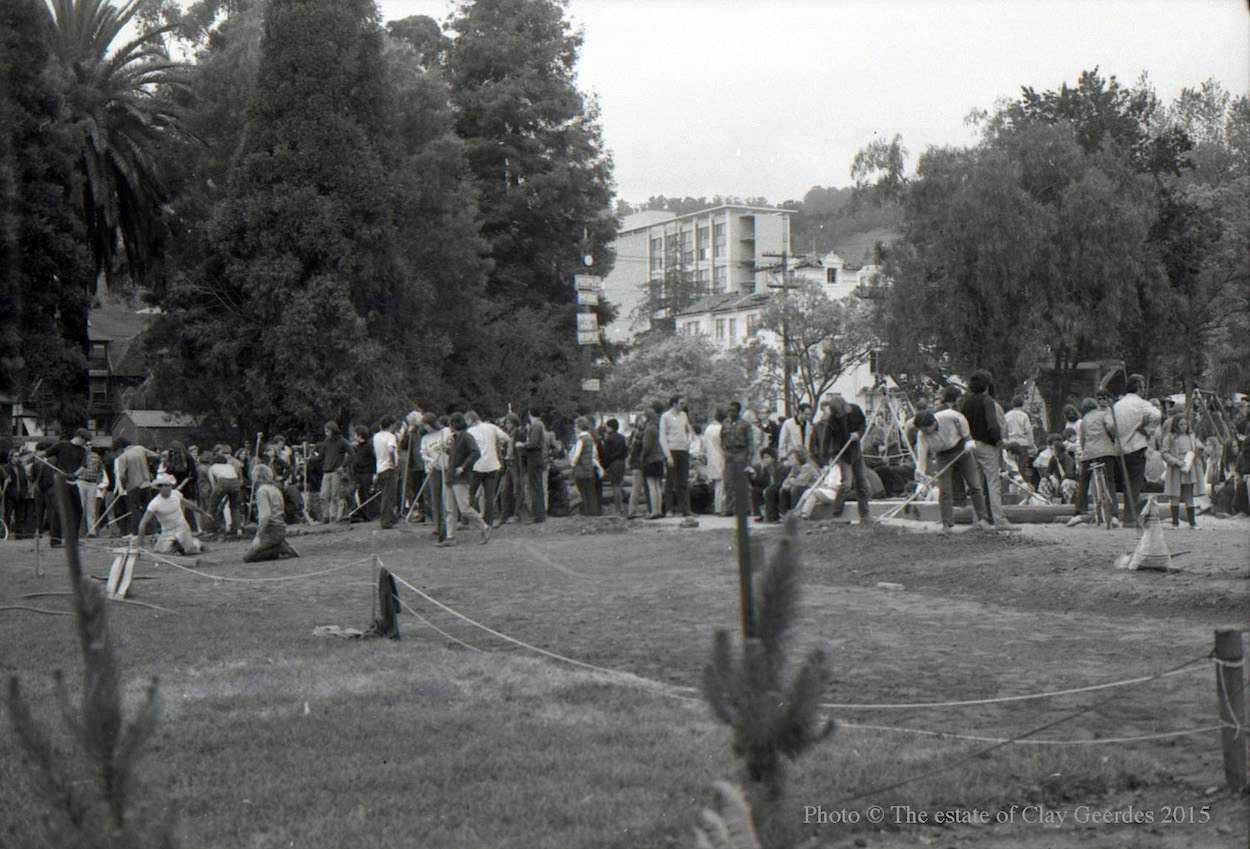 Berkeley People's Park 1969