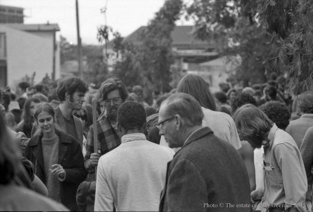 Berkeley People's Park 1969 California protest