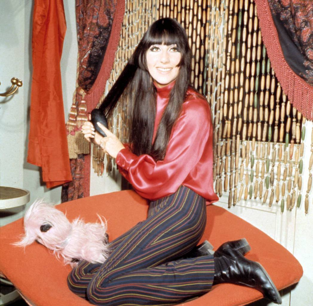 Cher in the 1960s.