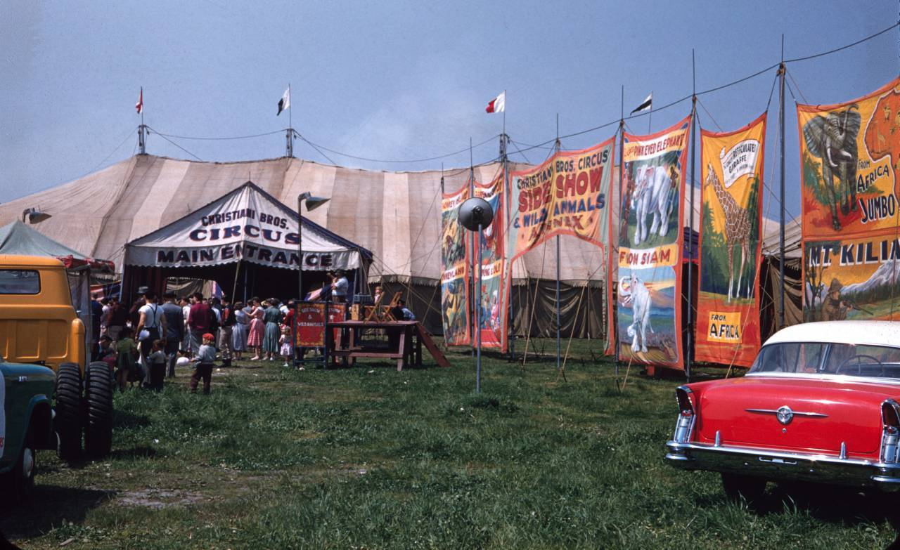 Christiani Brothers Circus, Nova Scotia, 1956