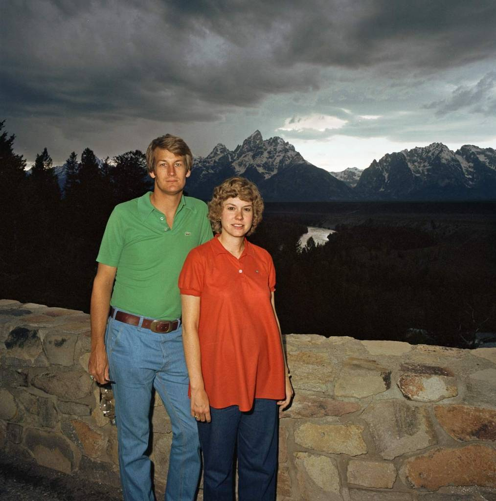 Couple-at-Grand-Tetons-National-Park-WY-1980
