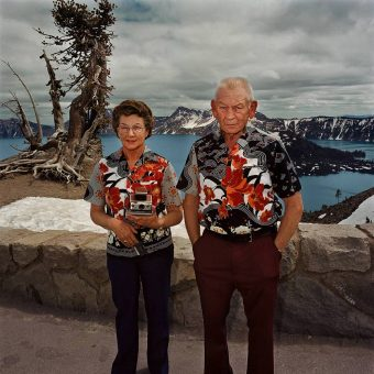 Photographing Tourists At America's Great National Parks in 1980