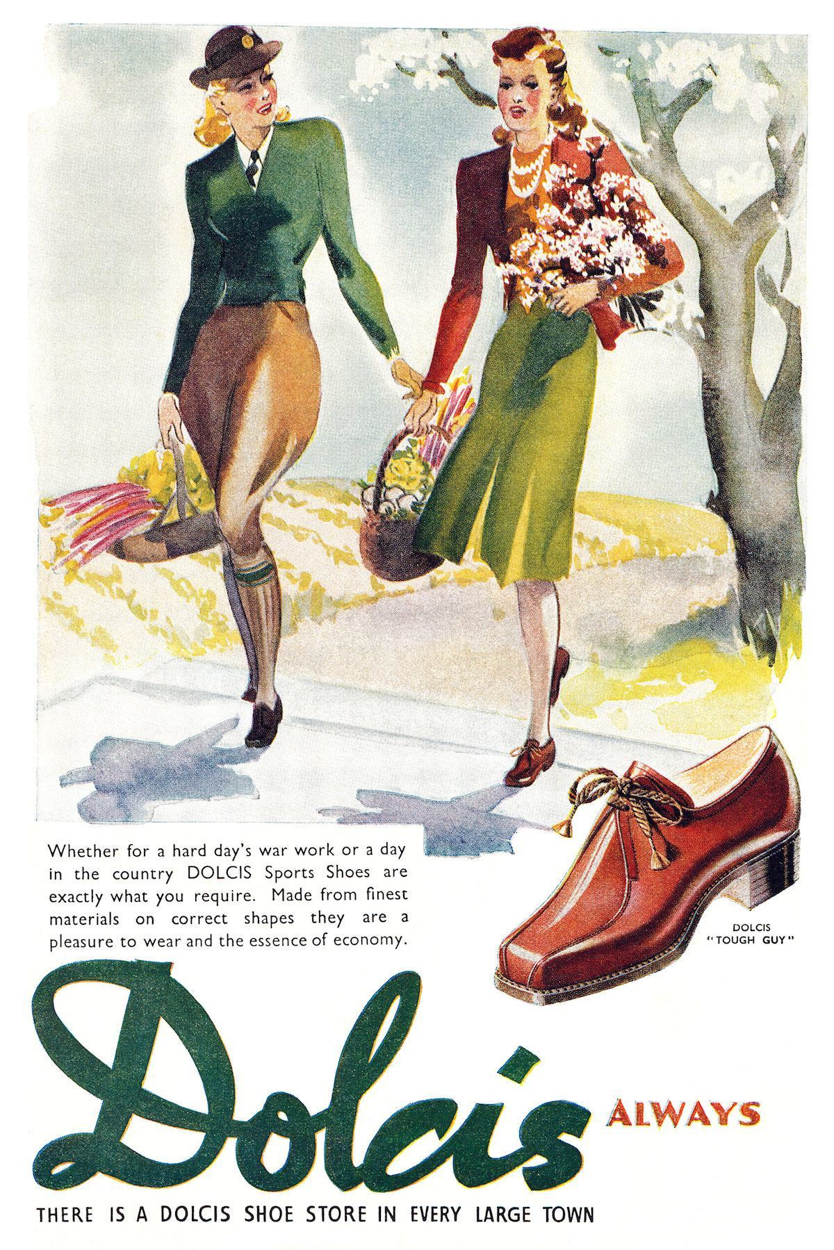 Dolcis Shoes ad 1943