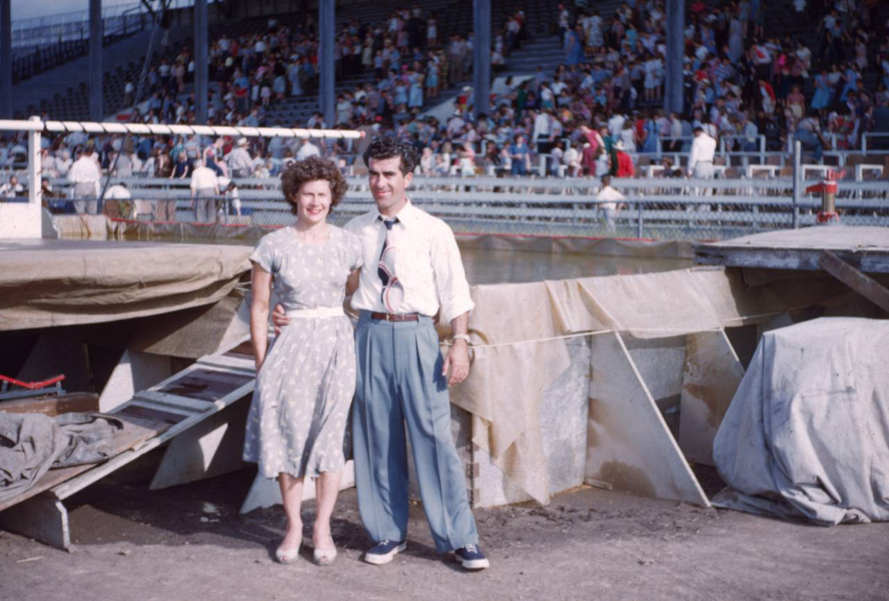 Dorrie Orton and Billy Roe,1954 Sharkey the Seal?