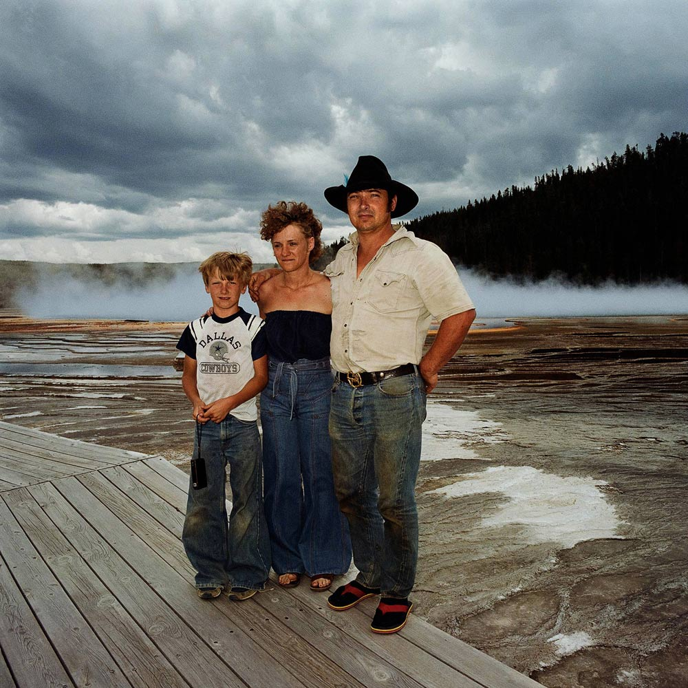 Family-at-Prismatic-Pool-Yellowstone-National-Park-WY-1980