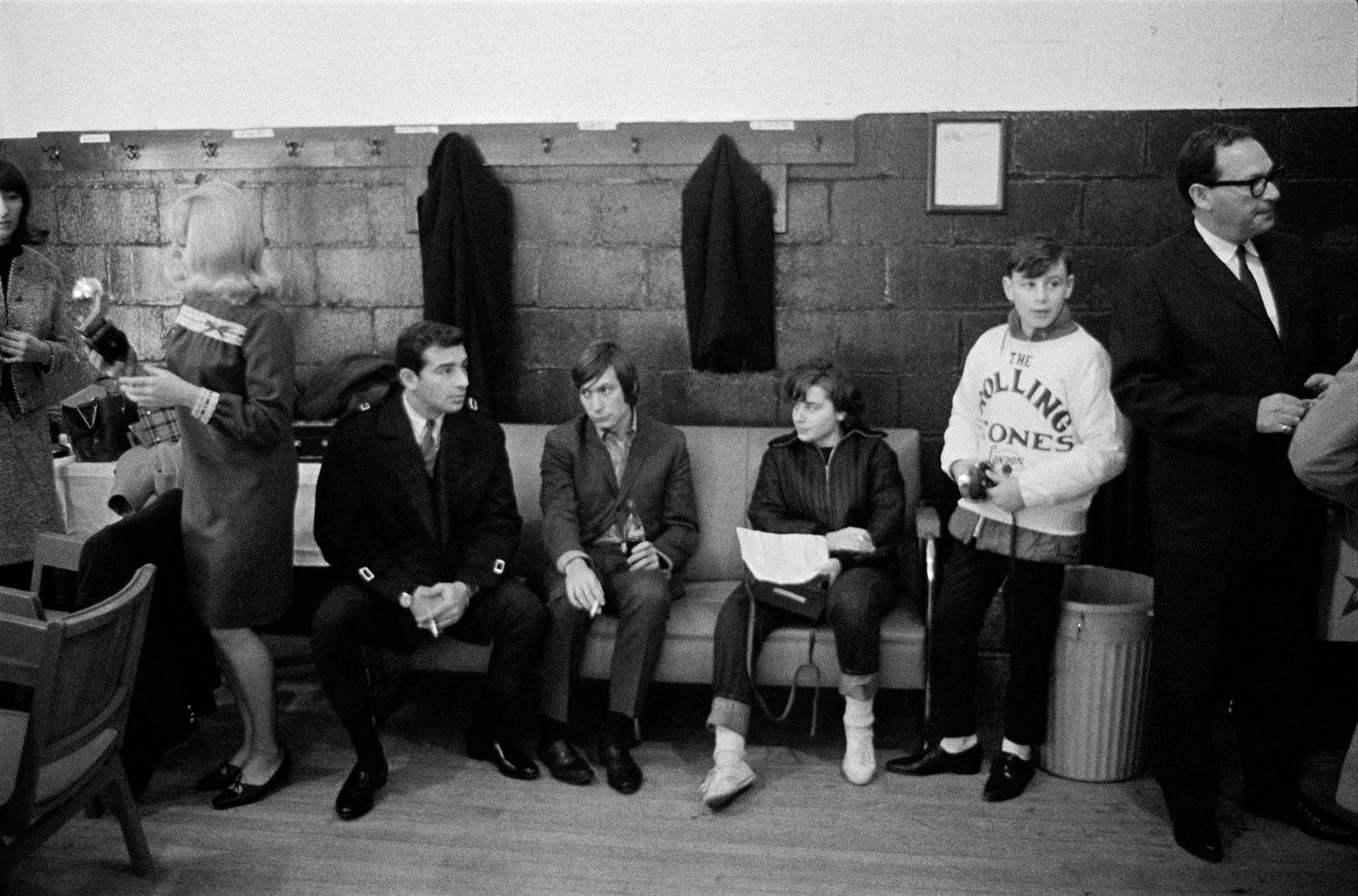 Fans and the promoter's friends (1965) 'Signing autographs was a chore the band dealt with before each show with resignation but endless good humour, generosity and kindness' says Gered Mankowitz