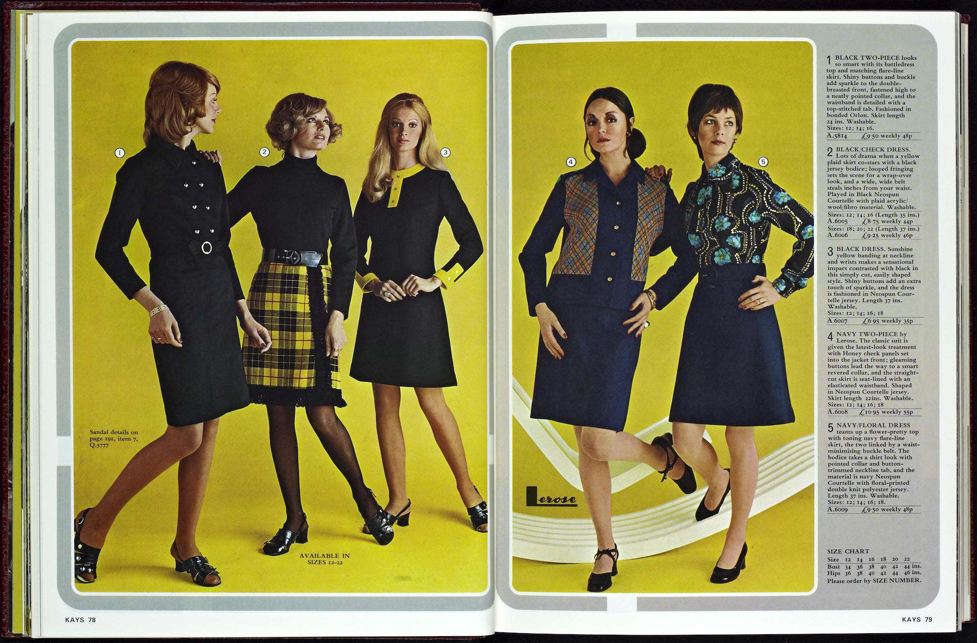 Everything Old Is New Again >> Kays Catalogue 1973 aa - Flashbak