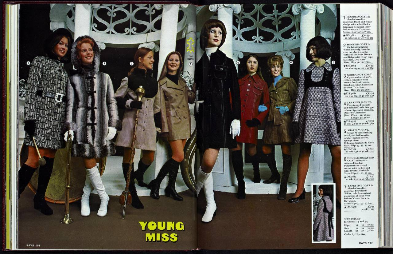 Wonderful Womenswear In The 1973 Kays Catalogue