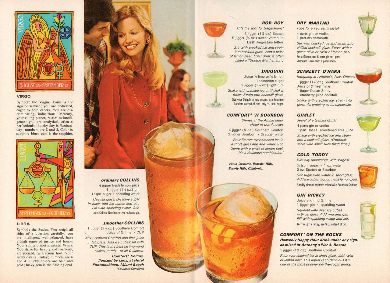 Mixology magazine cocktails drinks 1970s Happy Hour