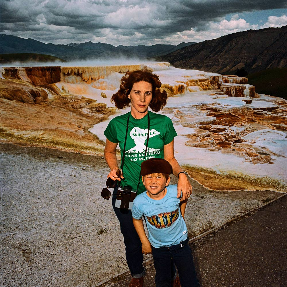 Mother-Son-at-Minervas-Terrace-Yellowstone-National-Park-WY-1980