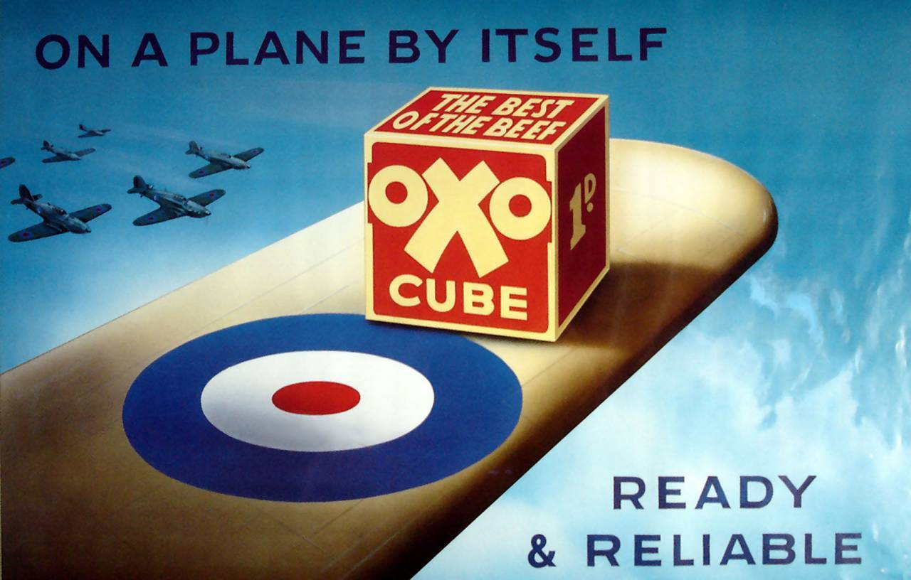 Oxo Cube WW2 adverts