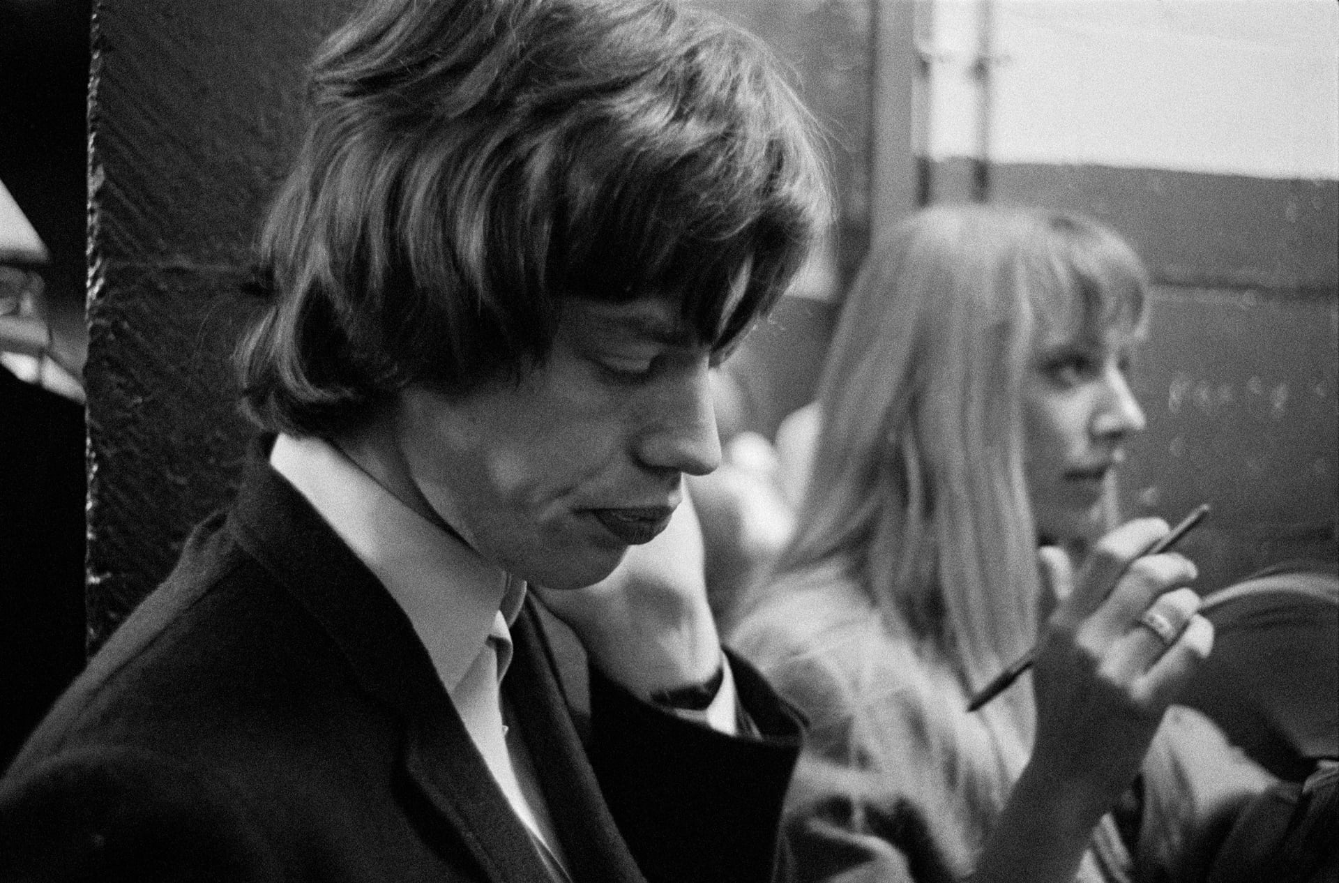 Signing duties for Mick and Bill (1965) 'Backstage was a regular progress of fanclub members, friends and relations of the promoters, and numerous journalists looking for a quote,'