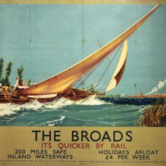 Beautiful LNER Seaside Posters of the 1930s