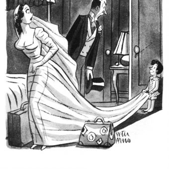 18 Great Cartoons From The Peter Arno Pocket Book, 1945