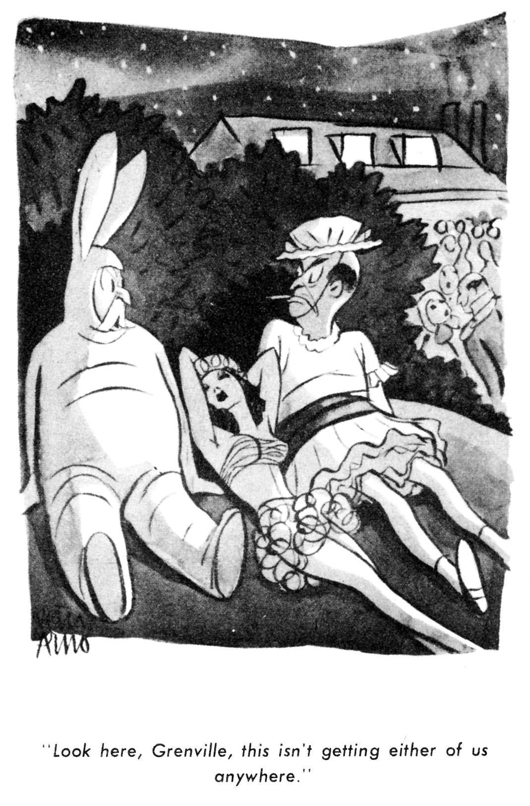 18 Great Cartoons From The Peter Arno Pocket Book, 1945 -1612