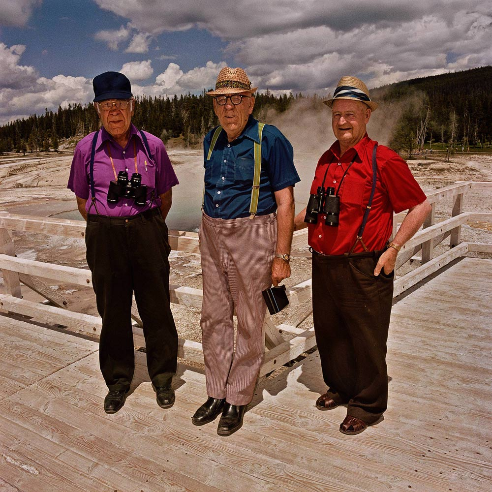 Three-Men-at-Upper-Geyser-Basin-Yellowstone-National-Park-WY-19801