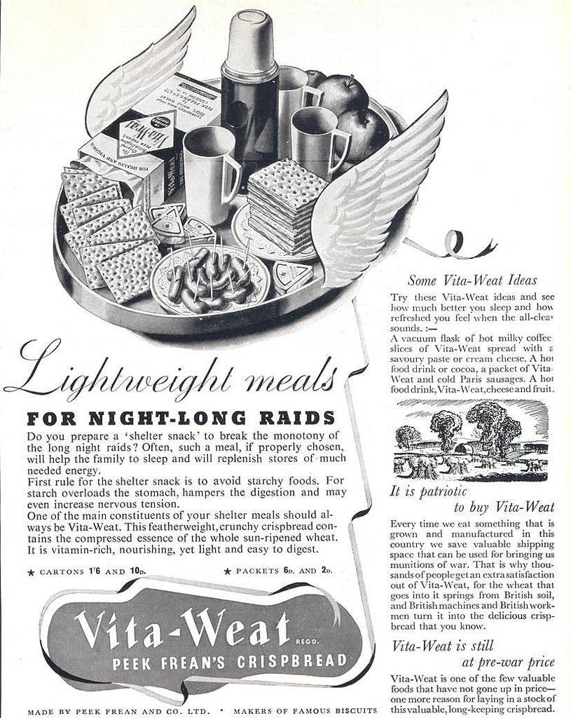 Vita-Weat 4 January, 1941 issue of The Sphere