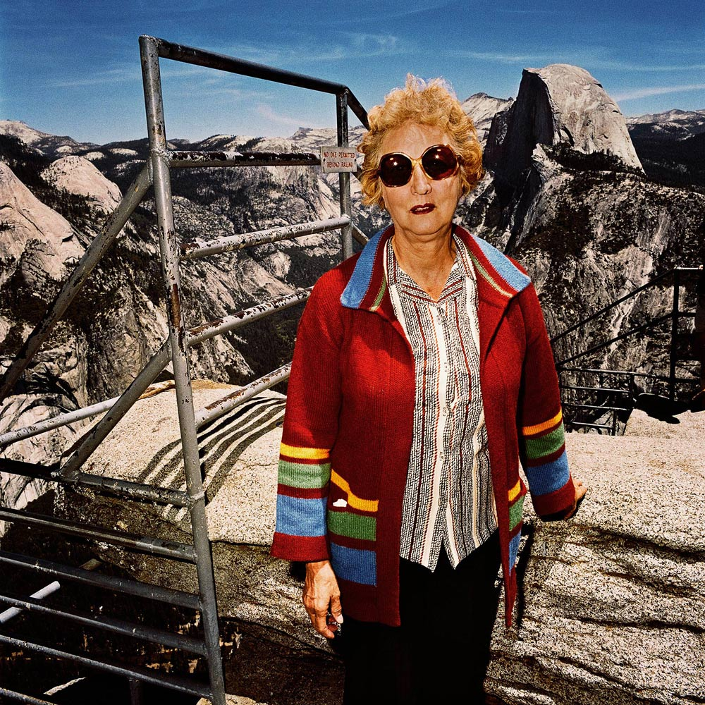 Women-with-Red-Sweater-at-Glacier-Point-Yosemite-National-Park-CA-1981