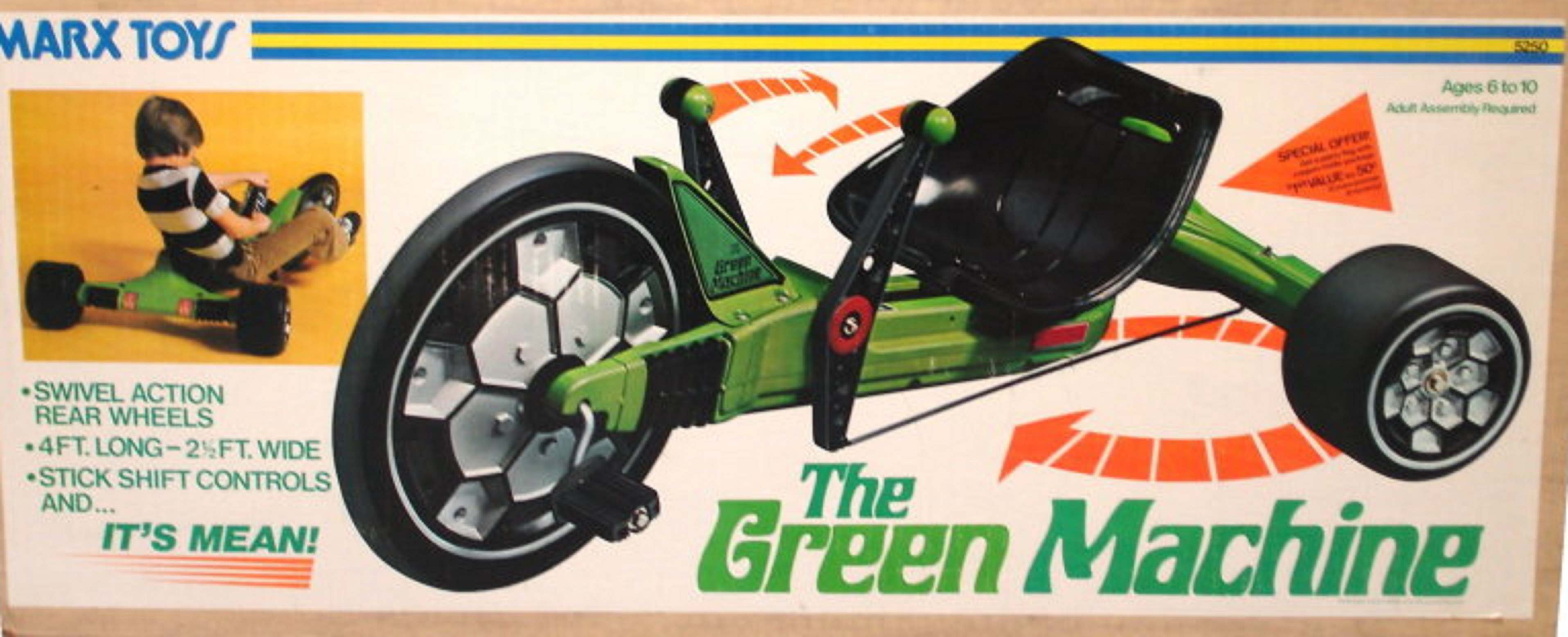 Marx's Green Machine