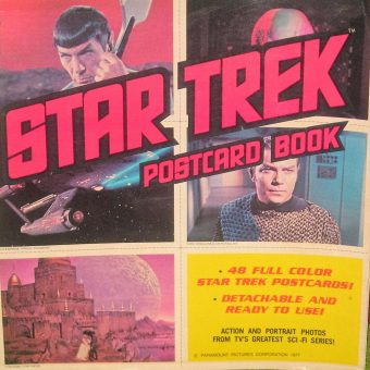 Remembering the Star Trek Postcard Book (1977)