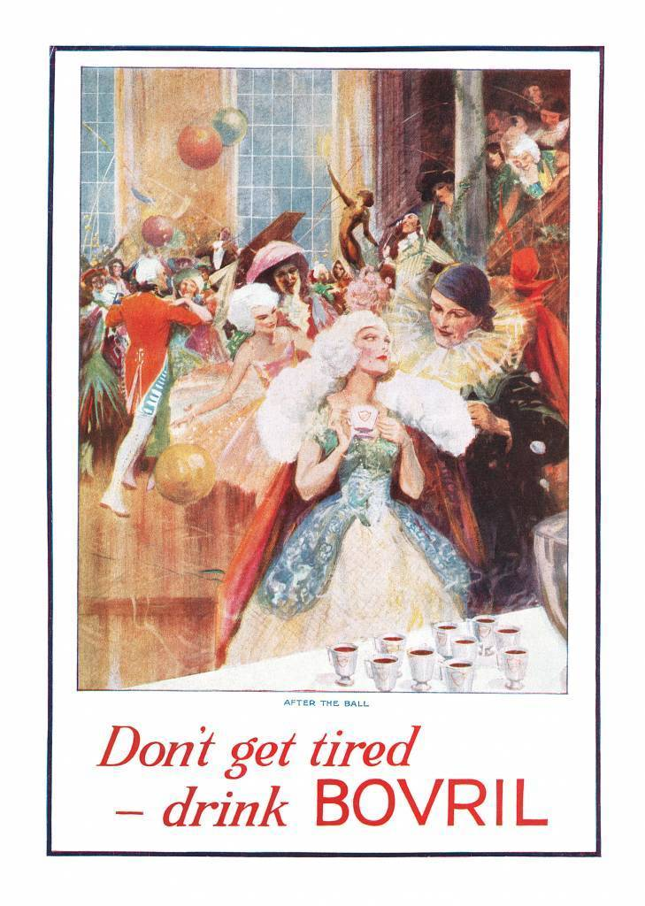 1927 Bovril ad Don't Get Tired Fancy Dress