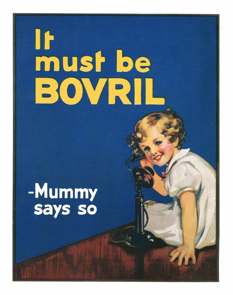 1934 Bovril ad Mummy Says So