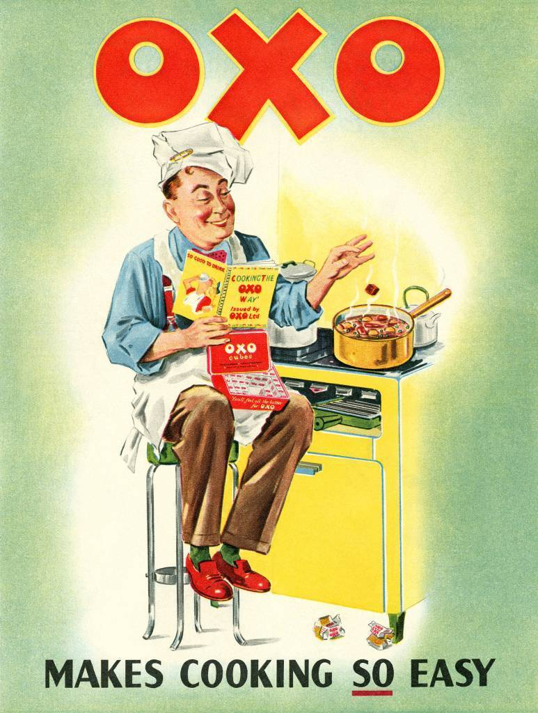 Oxo makes cooking SO easy - ad from 1952