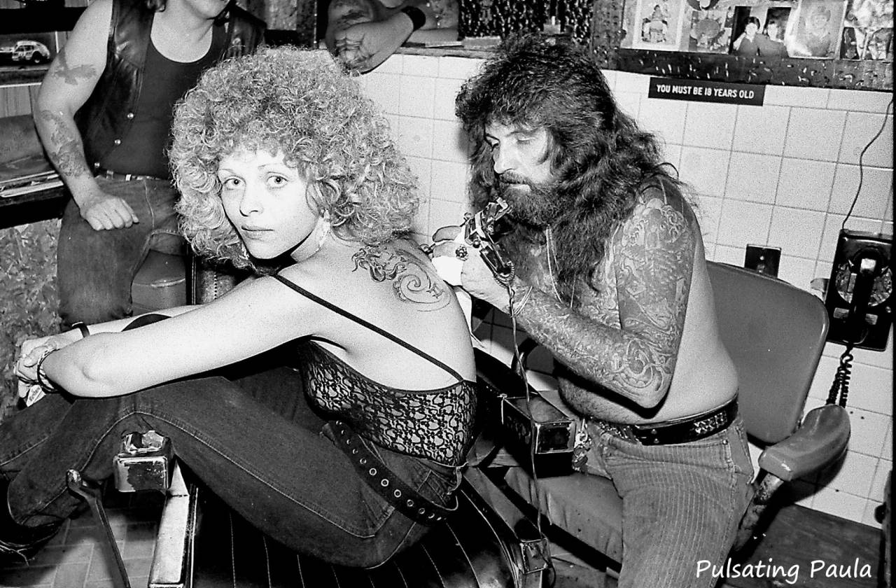 Pulsating Photos Of New Jersey Bikers In The 1980s and ...