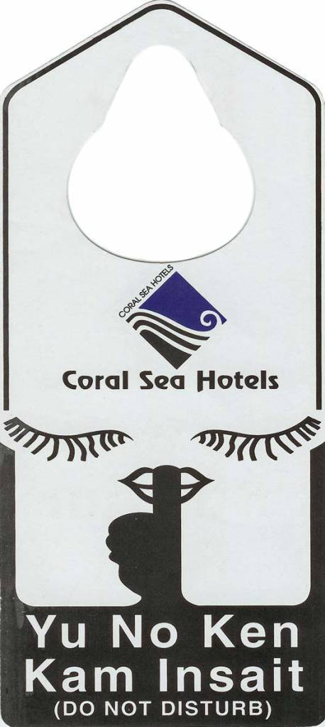 Coral Sea Hotels. Papua New Guinea