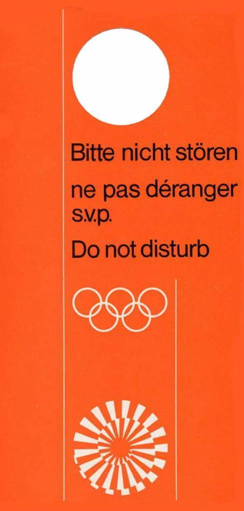 1972 Olympic Village, Munich