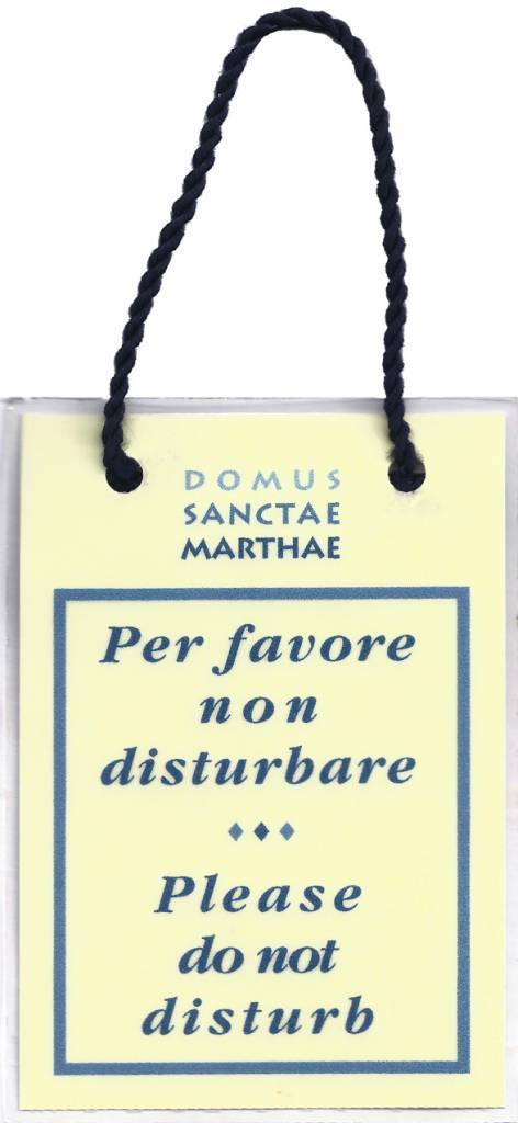 The Domus Sanctæ Marthæ functions as a guest house for those having business with the Holy See, but it is best known as the hotel residence of the College of Cardinals taking part in the papal conclaves to elect new Popes.