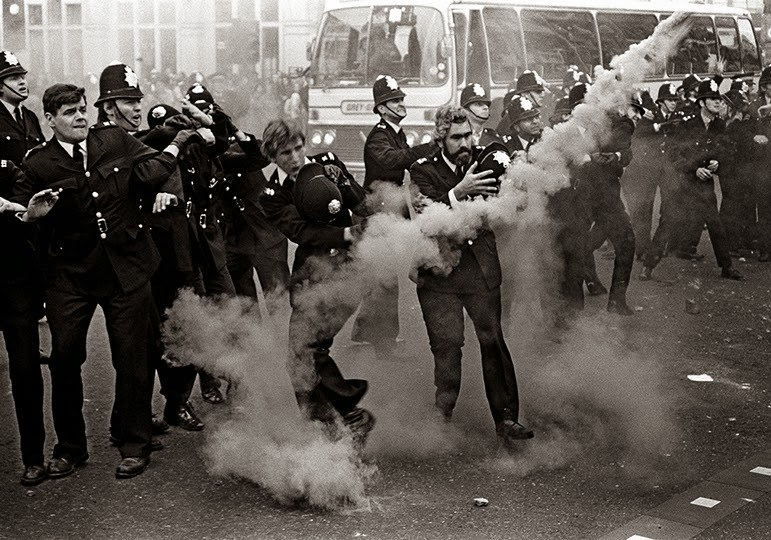 Anti- National Front Demonstration, Lewisham, South London, 1977 a
