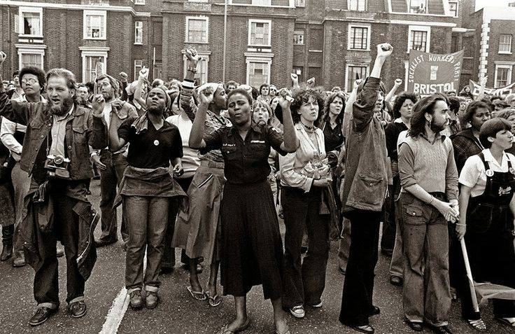 Anti- National Front Demonstration, Lewisham, South London, 1977