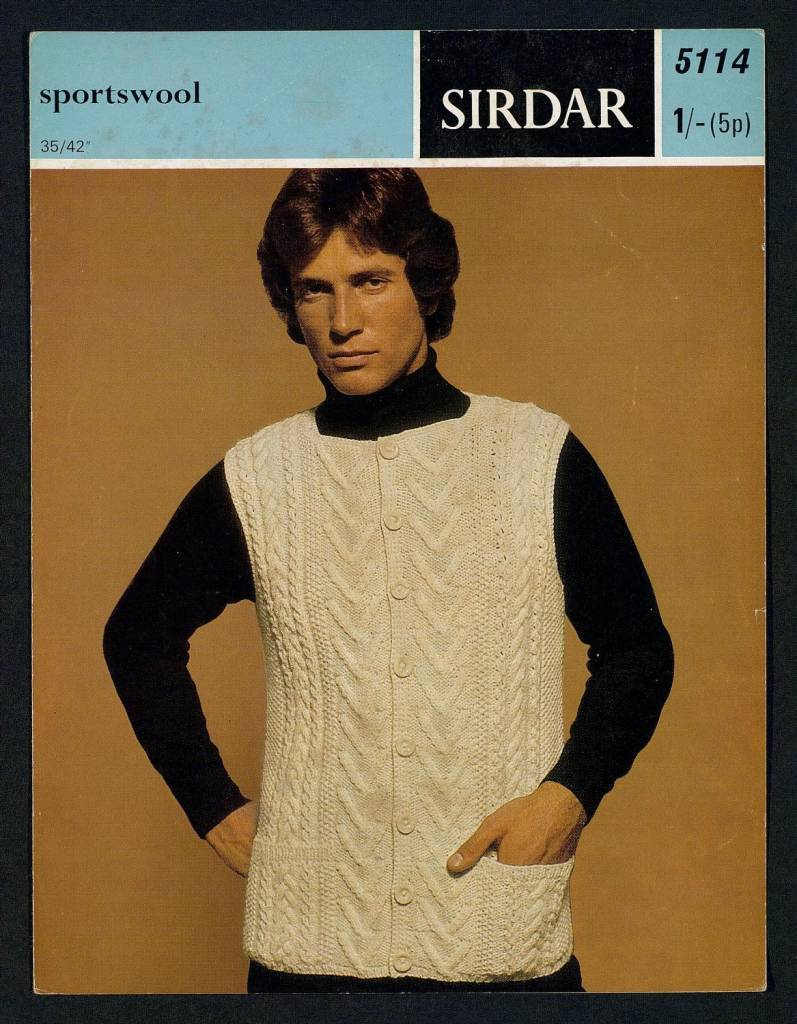 knitting patterns retro